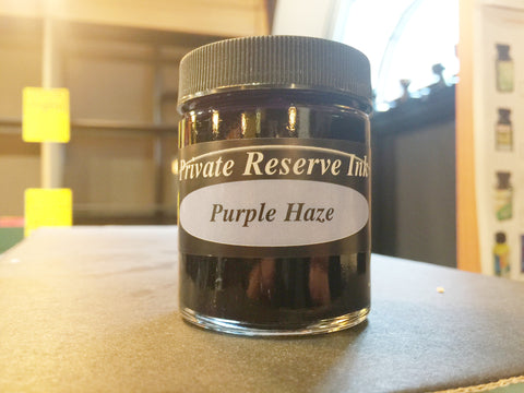 Purple Haze 66 ml Bottle Fountain Pen Ink by Private Reserve Ink