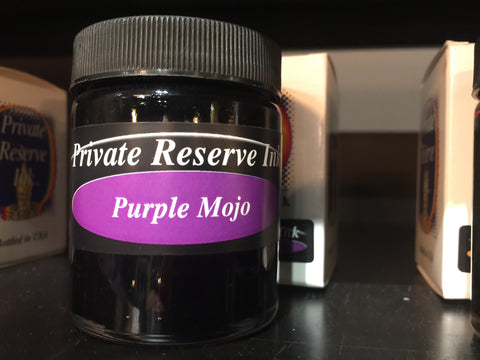 Purple Mojo 66 ml Bottle Fountain Pen Ink by Private Reserve Ink