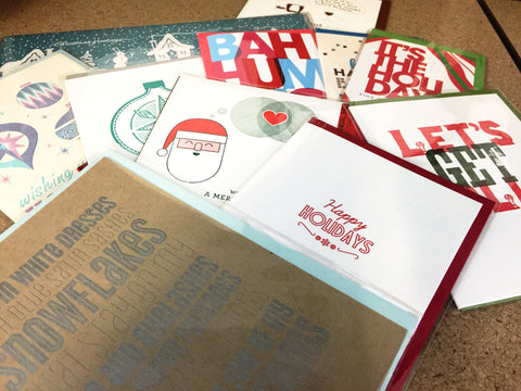 Holiday Card Pack of 12
