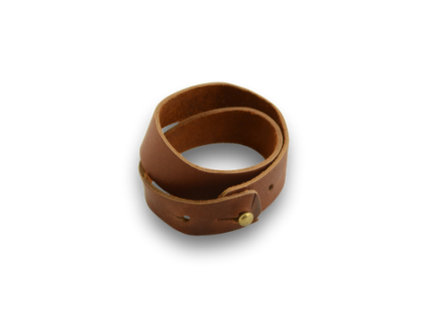 Double Wrap Wristband Saddle