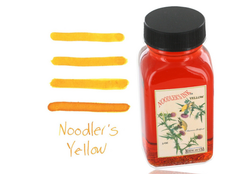 Yellow ink by Noodler's