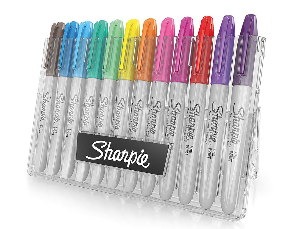 Sharpie Fine Point Permanent Markers in Storage Case - 12 pack | Robert Mason Co.