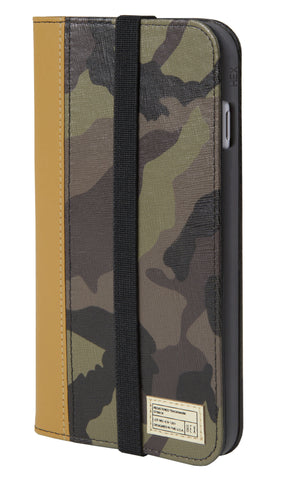 Hex Icon Wallet iPhone 6/6s Plus Case - Camo Leather