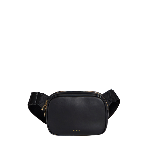 STATE Womens Crosby Fanny Pack Black One Size STATE-Women/'s