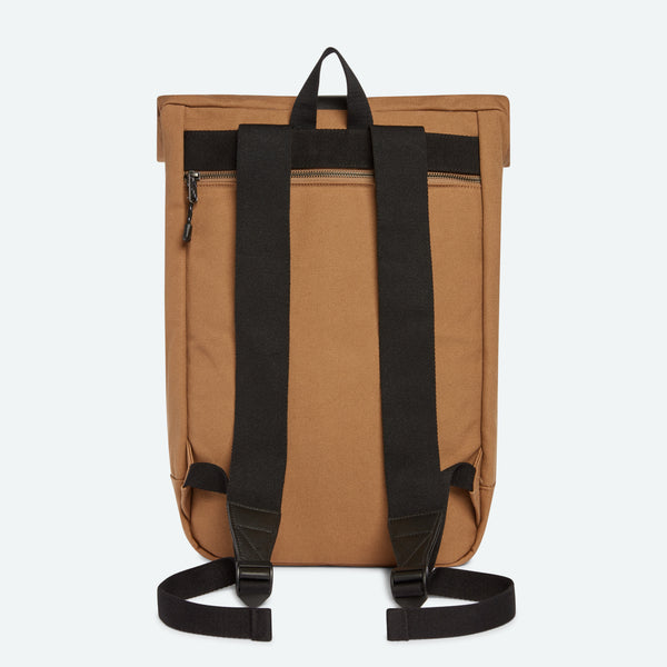 4a271675a Mens Rolltop Backpack in Whiskey - Colby by STATE Bags