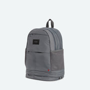 gray backpacks