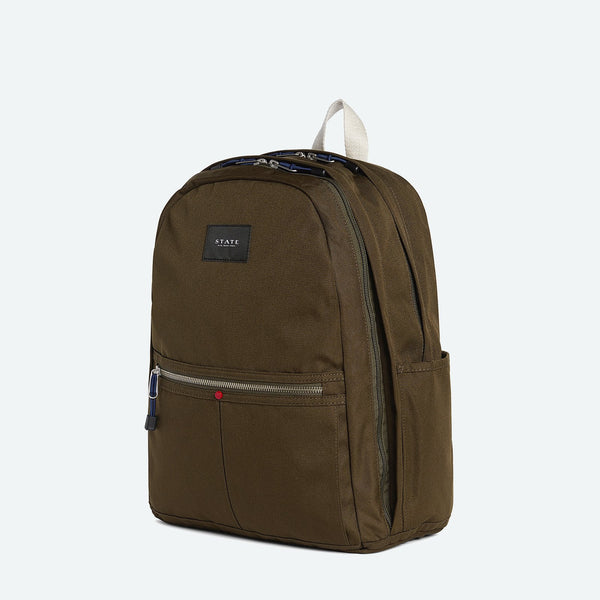 1ad75a1b08b9 Olive Stylish Laptop Backpack - Bedford by STATE Bags