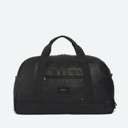 black duffle bag