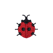 lady bug patch for backpacks