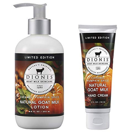 Dionis Goat Milk Body Lotion and Hand Cream Caramel Pumpkin Spice