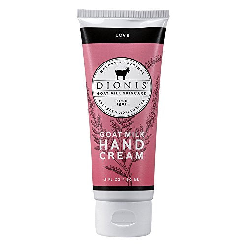 Dionis Goat Milk Skincare Hand Cream, Love, 2 oz.