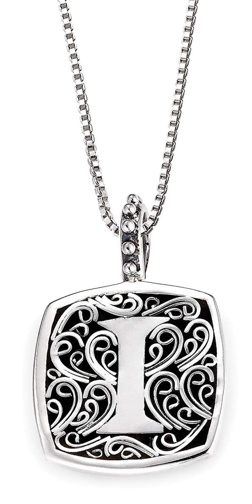 "Lori Bonn Sweet Initial ""I"" Pendant Necklace"