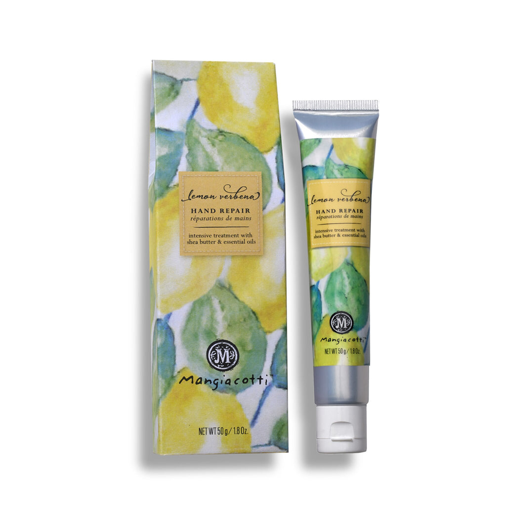 Mangiacotti Intense Repair Hand Cream with Essential Oils - Lemon Verbena