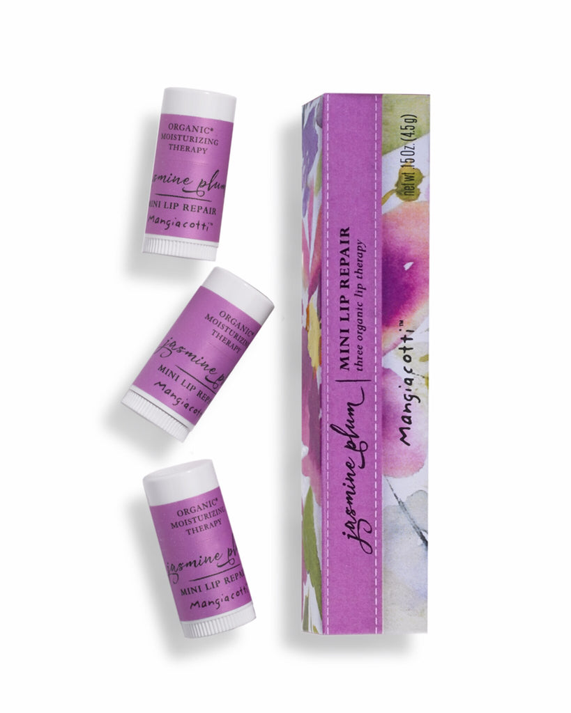 Mangiacotti Super Moisturizing Mini Lip Repair .15oz - Jasmine Plum