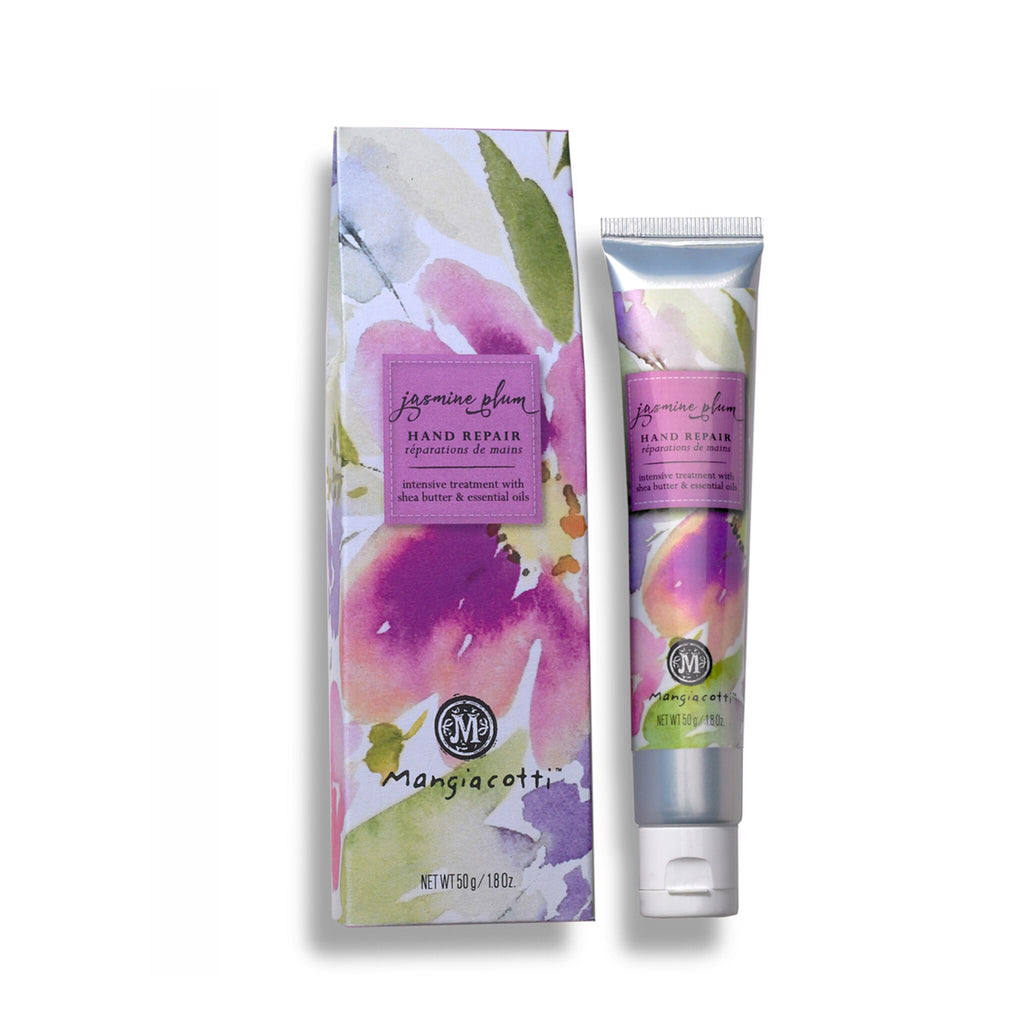 Mangiacotti Intense Repair Hand Cream with Essential Oils - Jasmine Plum