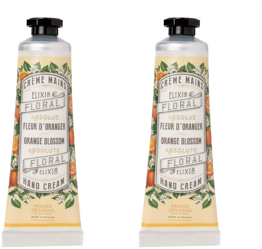 Panier Des Sens The Absolutes Floral Elixir Hand Cream 2-Pack, Orange Blossom