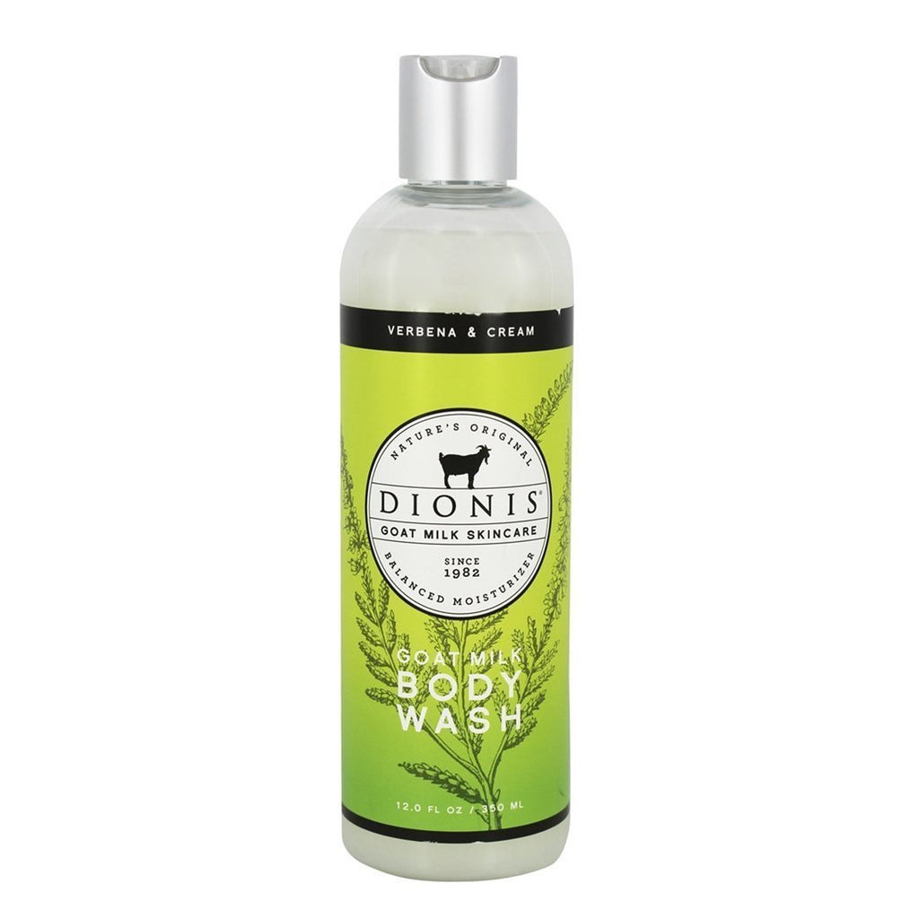 Dionis Goat Milk Skincare - Body Wash Verbena & Cream - 12 oz.