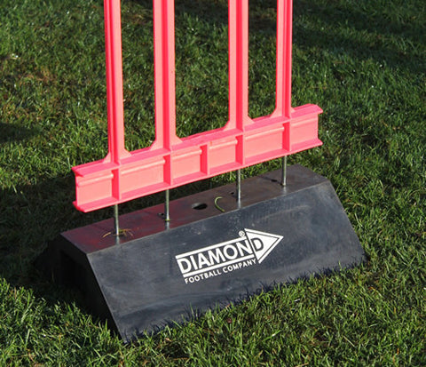 Diamond Weighted Football Mannequin Base - Sportnetting