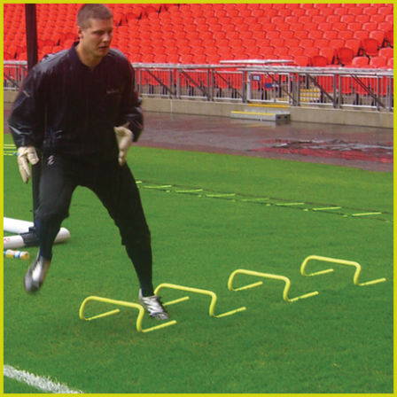 Diamond Football Training Hurdles by Diamond Football Co. at www.sportnetting.co.uk - 1