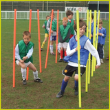 Diamond Football Mini Slalom Pole Set