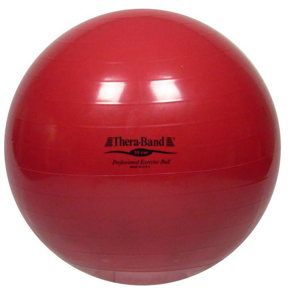 Red TheraBand Exercise Ball 55CM