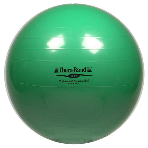 Green TheraBand Exercise Ball 65CM