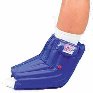 CP2 Cold Compression Ankle wrap shown on a person's ankle.