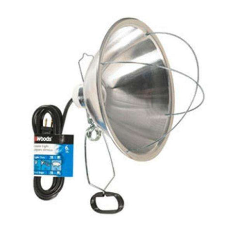 "10.5"" Brooder Lamp with Clamp"
