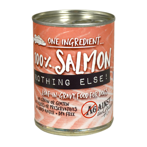 Against the Grain Nothing Else Grain Free One Ingredient 100% Salmon Canned Dog Food