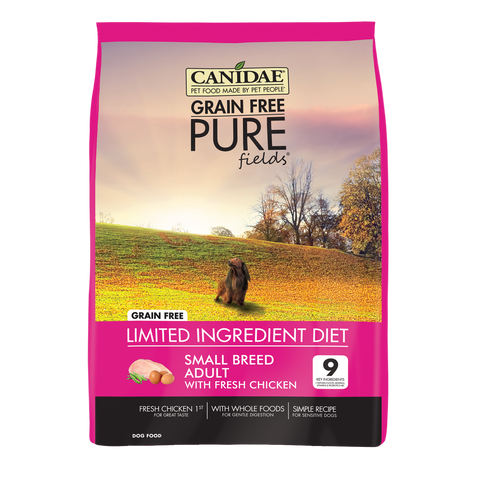 Canidae Grain Free PURE Fields with Chicken Small Breed Formula Dry Dog Food