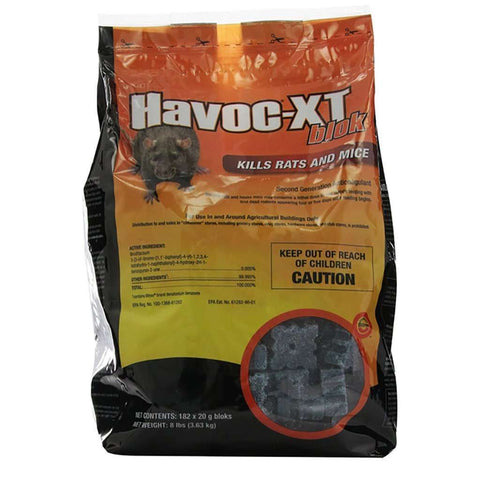 Havoc XT Blok Rodenticide with Brodiafacoum