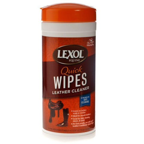 Lexol Quick Wipes Leather Care