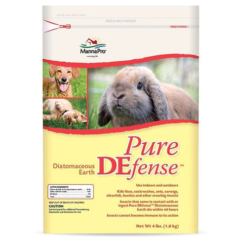 Manna Pro Pure Defense Diatomaceous Earth 4 lb
