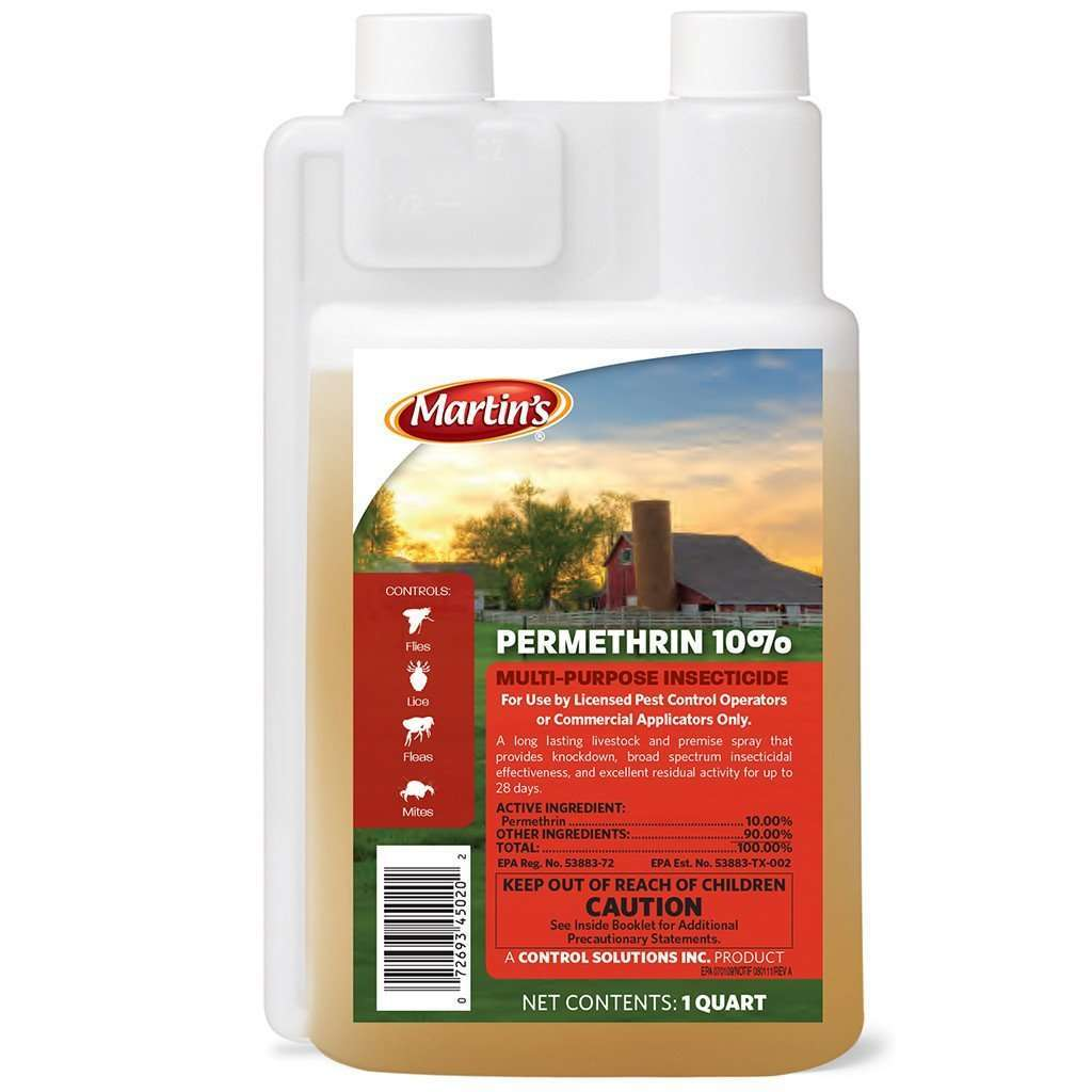 Permethrin 10% Concentrate – Circle G Ranch & Pet Supply