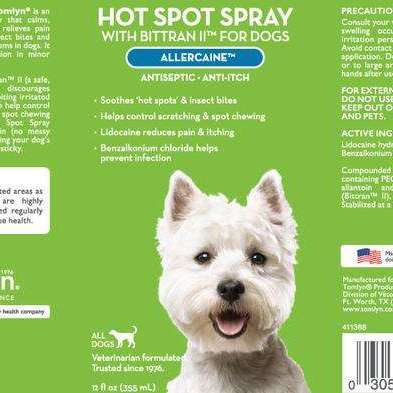 Tomlyn Hot Spot Spray with Bittran II