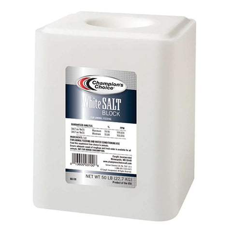 White Salt Block 50 lbs
