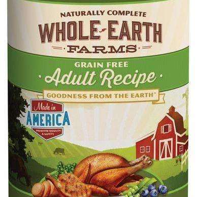 Whole Earth Farms Grain Free Adult Recipe Canned Dog Food