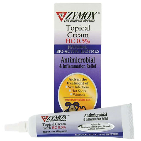 Zymox Topical Cream HC 0.5%