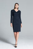 Copenhagen figure-slimming signature sheath dress