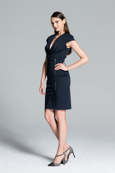 Barcelona Wrap Dress Editorial