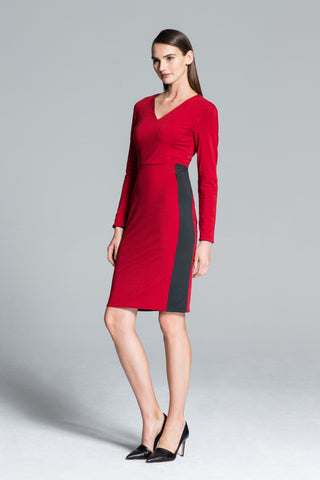 Bogotá Reversible Knit Sheath Dress
