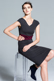 San Francisco  knit sheath dress