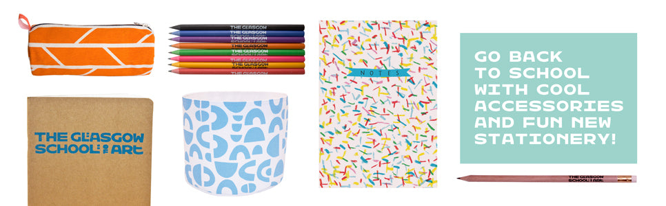 Go back to School with cool accessories and fun new stationery