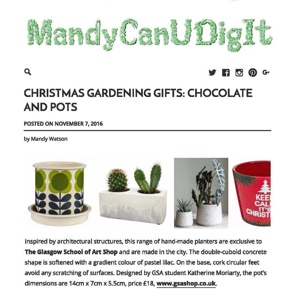 Mandy can you dig it - Gardening gift guide - November 2016