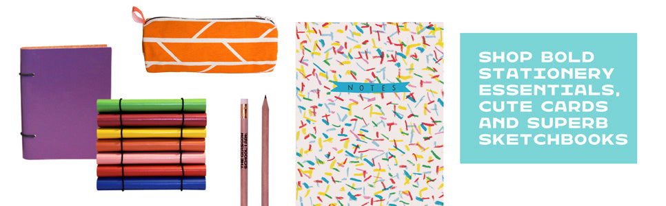 Shop our bold stationery essentials