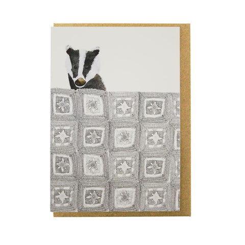 Badger-blanket-card-