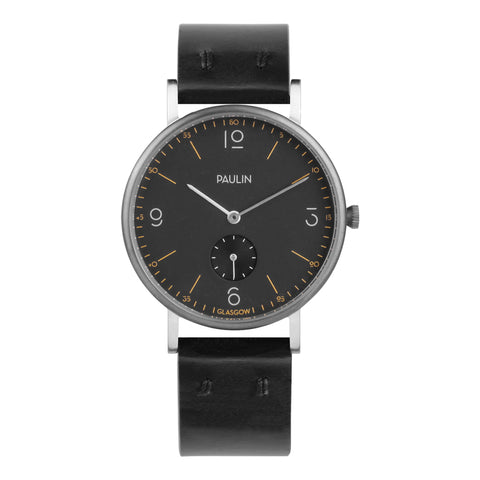 Commuter numerical watch - black
