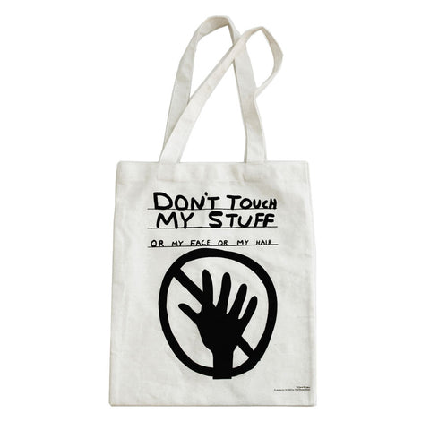 Don't touch my stuff - tote bag