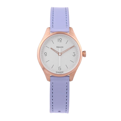 Geo mini watch - lavender
