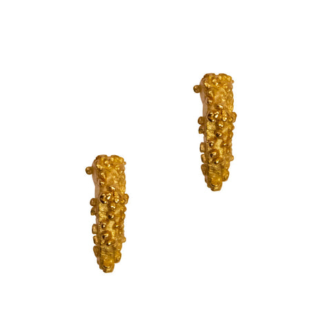 Ceres studs - gold plated